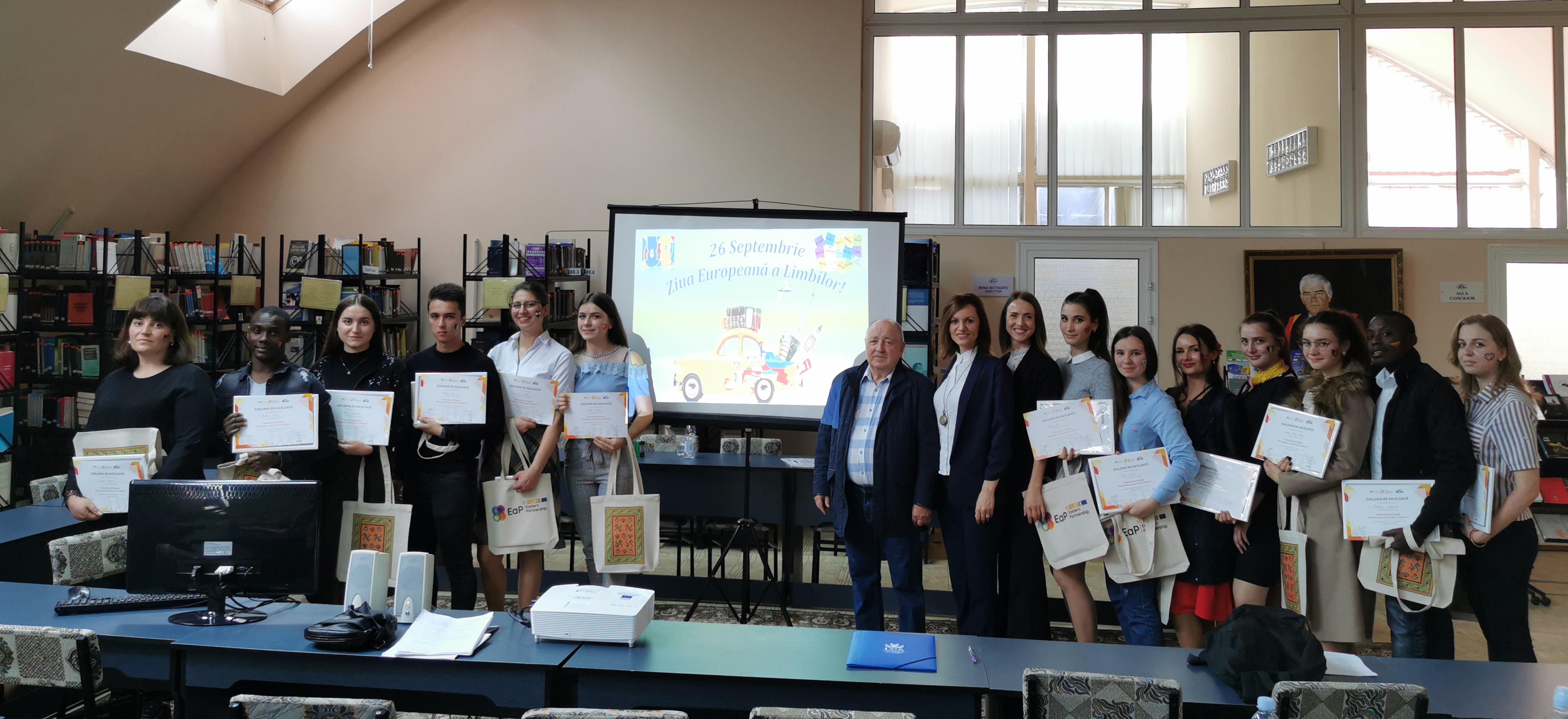 Ziua Europeană a Limbilor celebrată la ULIM