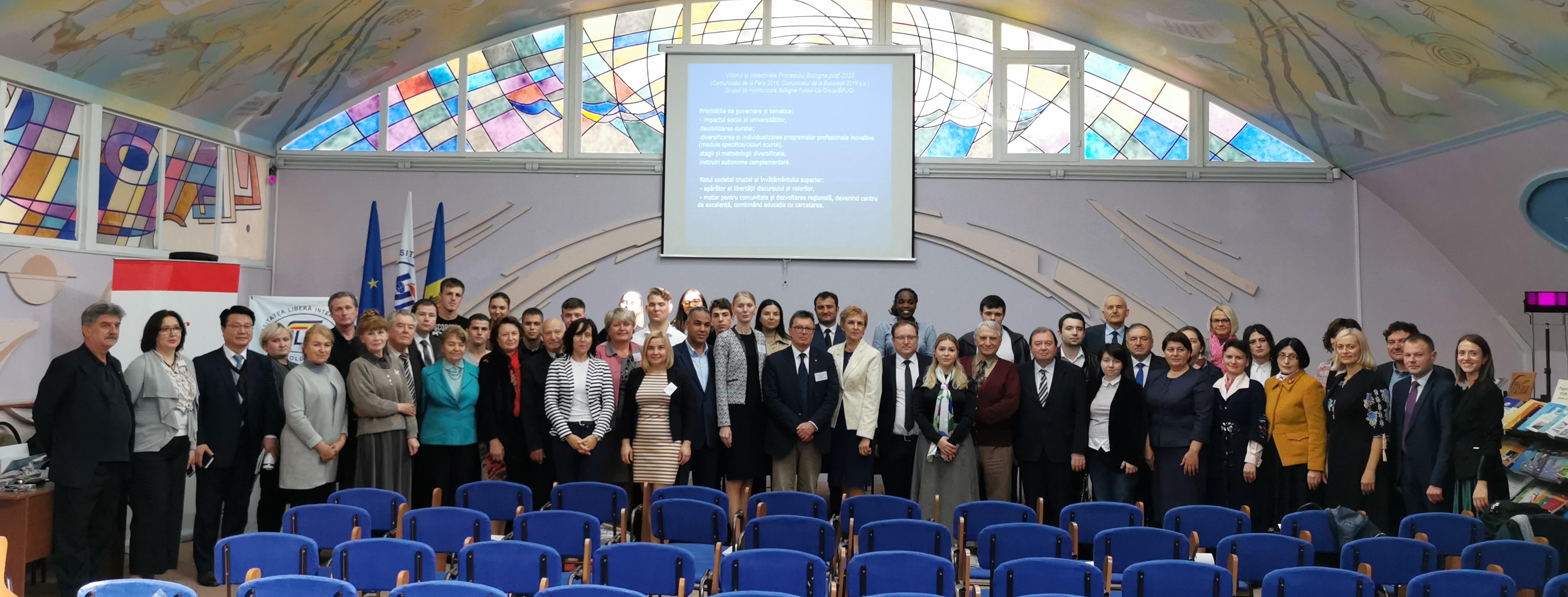La ULIM au fost celebrați cei 27 de ani de excelență și progres academic