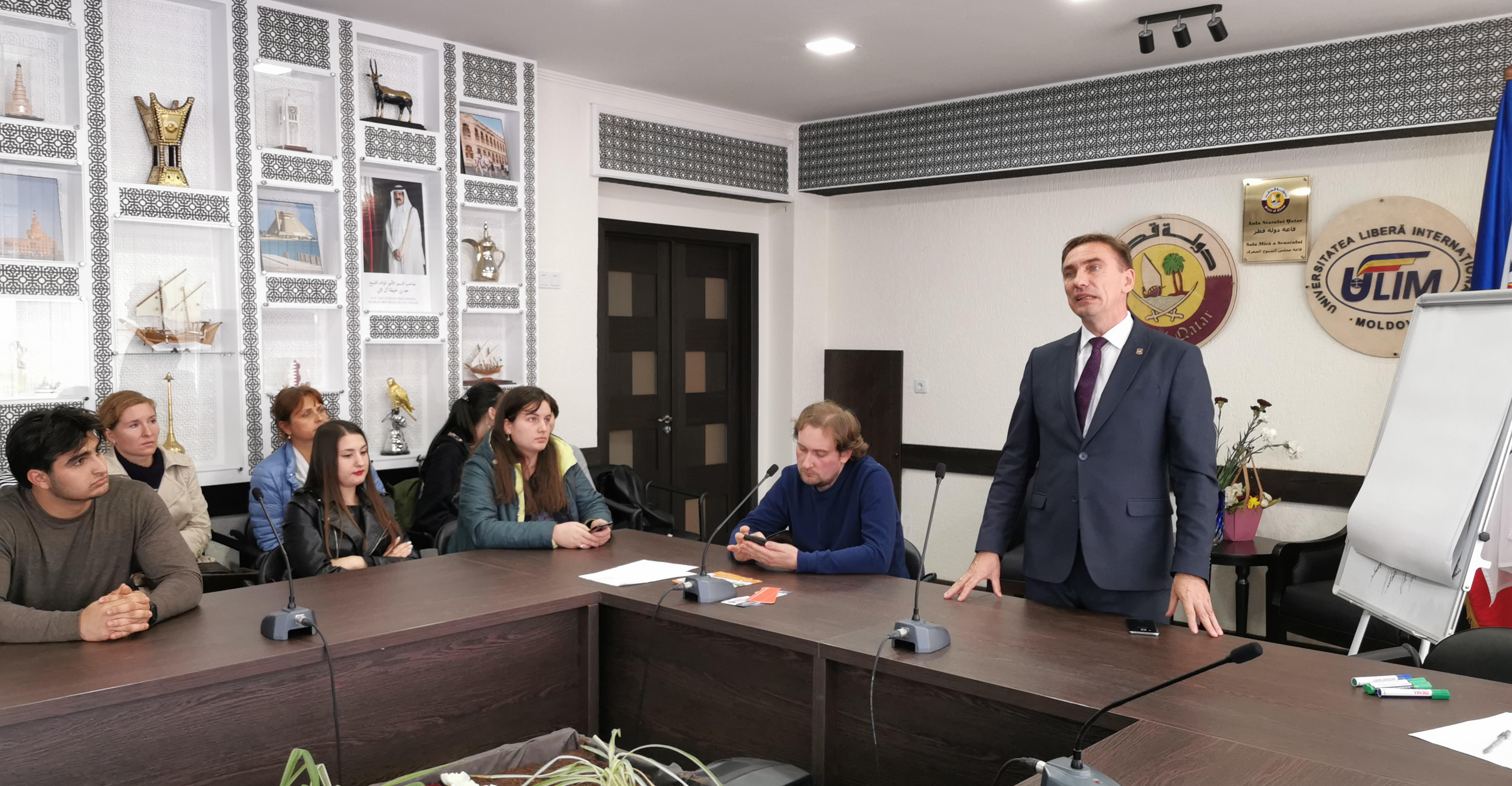Ziua Europeană de Combatere a Traficului de Ființe Umane marcată la ULIM