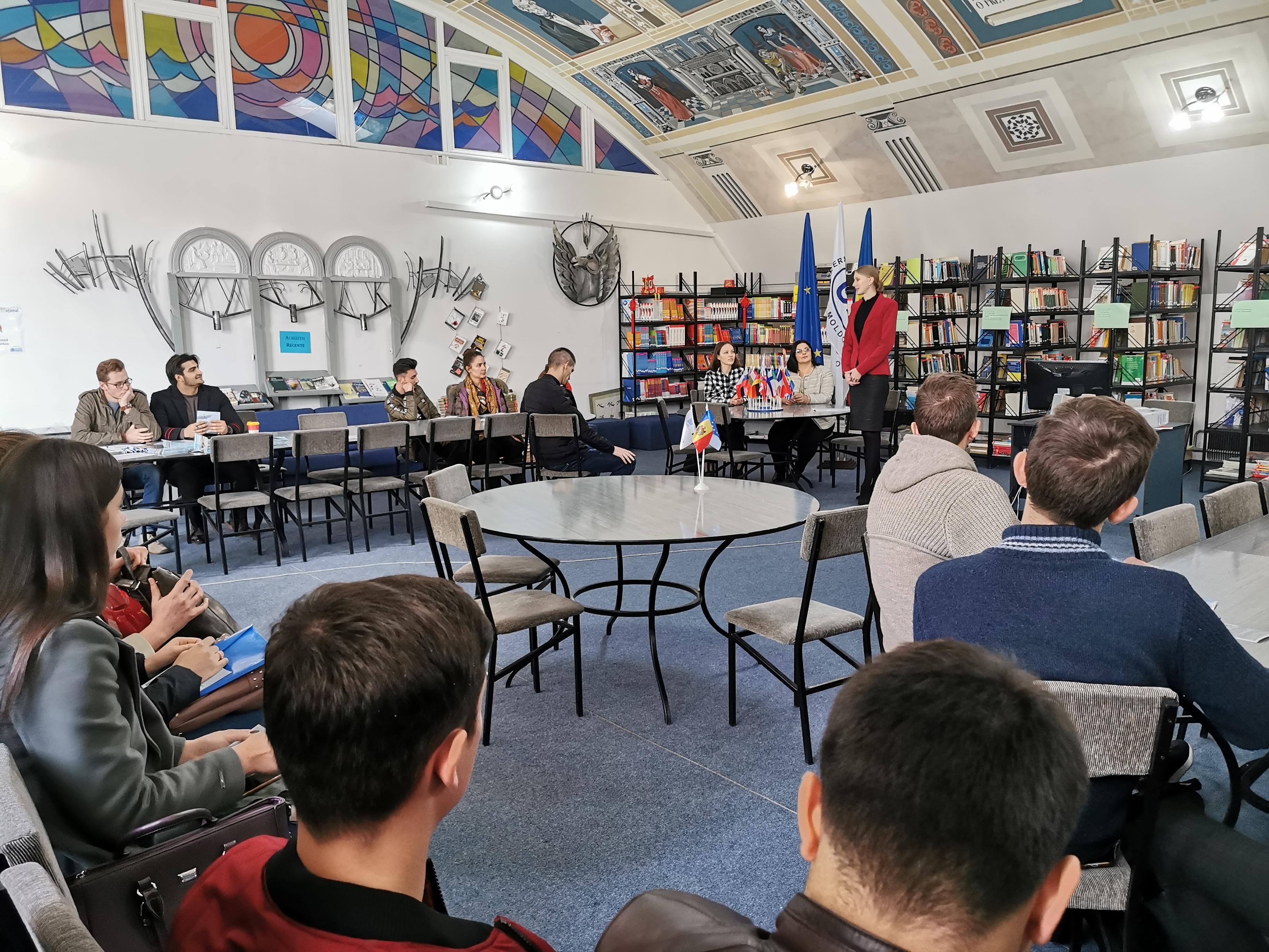Sesiune de informare Erasmus +