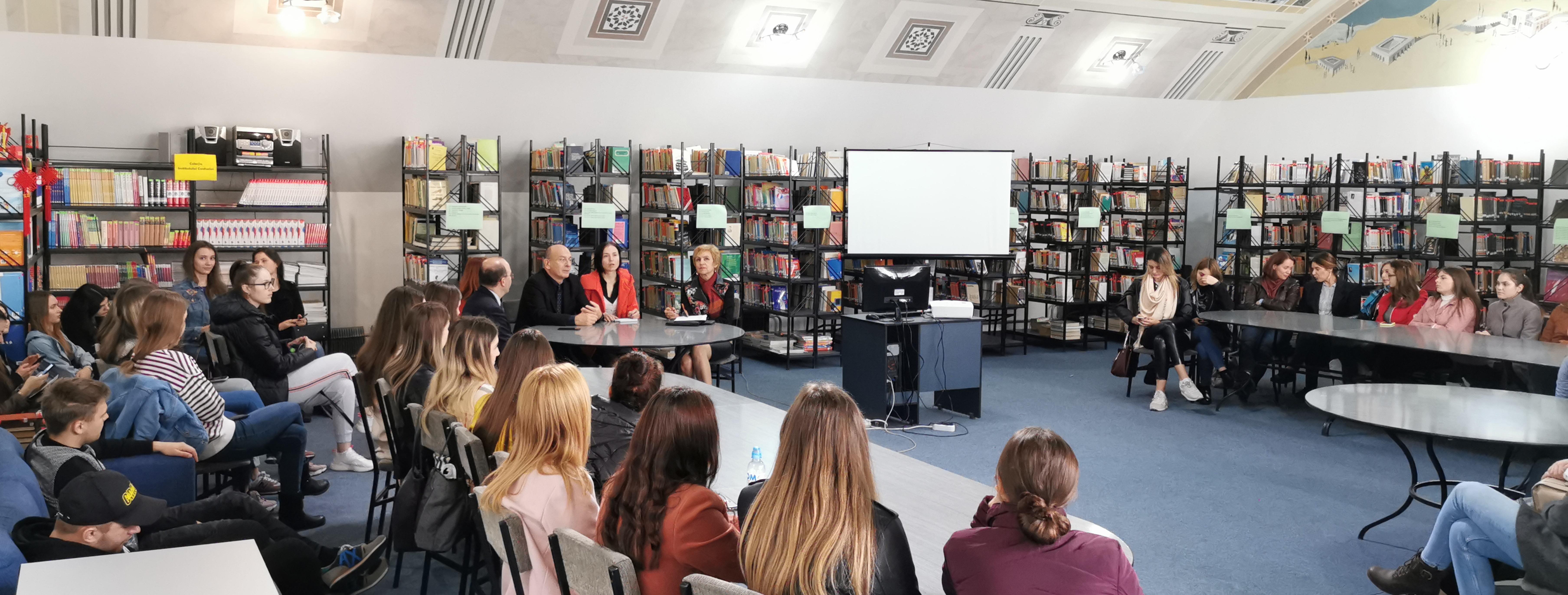 Studenții ULIM au beneficiat de un seminar de informare în domeniul sănătății publice, susținut de expertul francez  de înalt nivel François Bourdillon