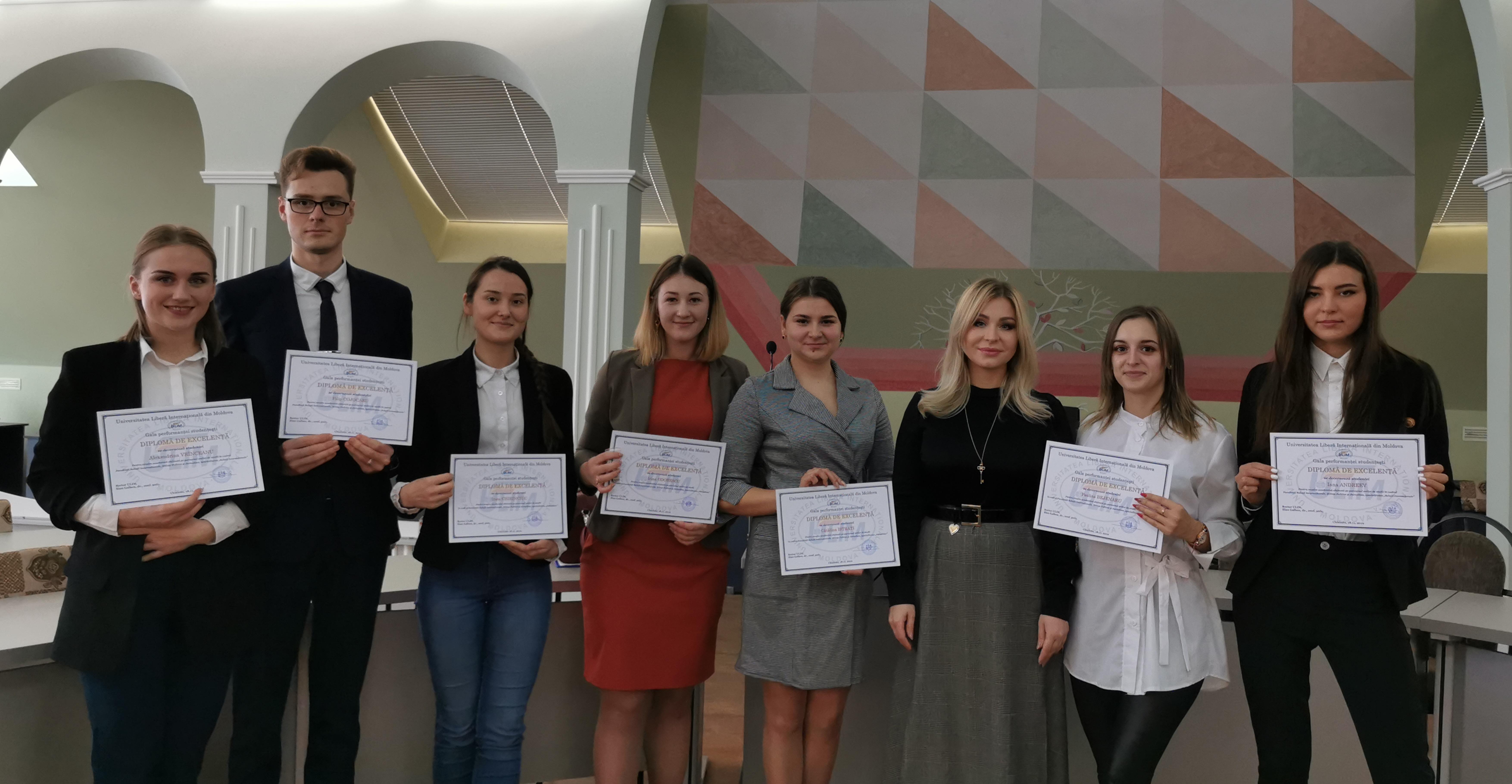 Prima ediție a Galei Performanței Studențești și-a desemnat laureații