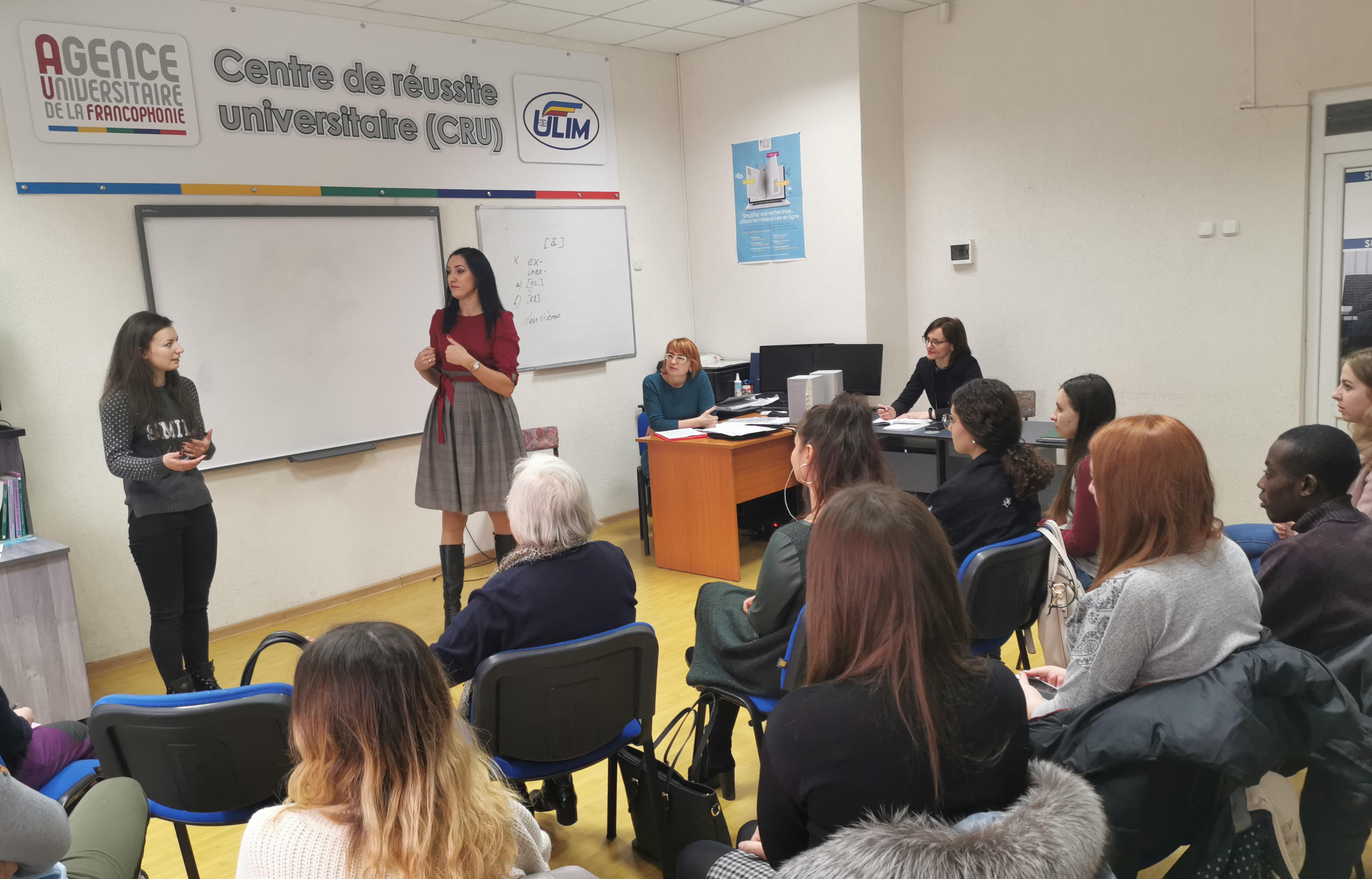 """Seminar de inițiere: """"Traducerea/Interpretarea la traininguri și forumuri"""""""