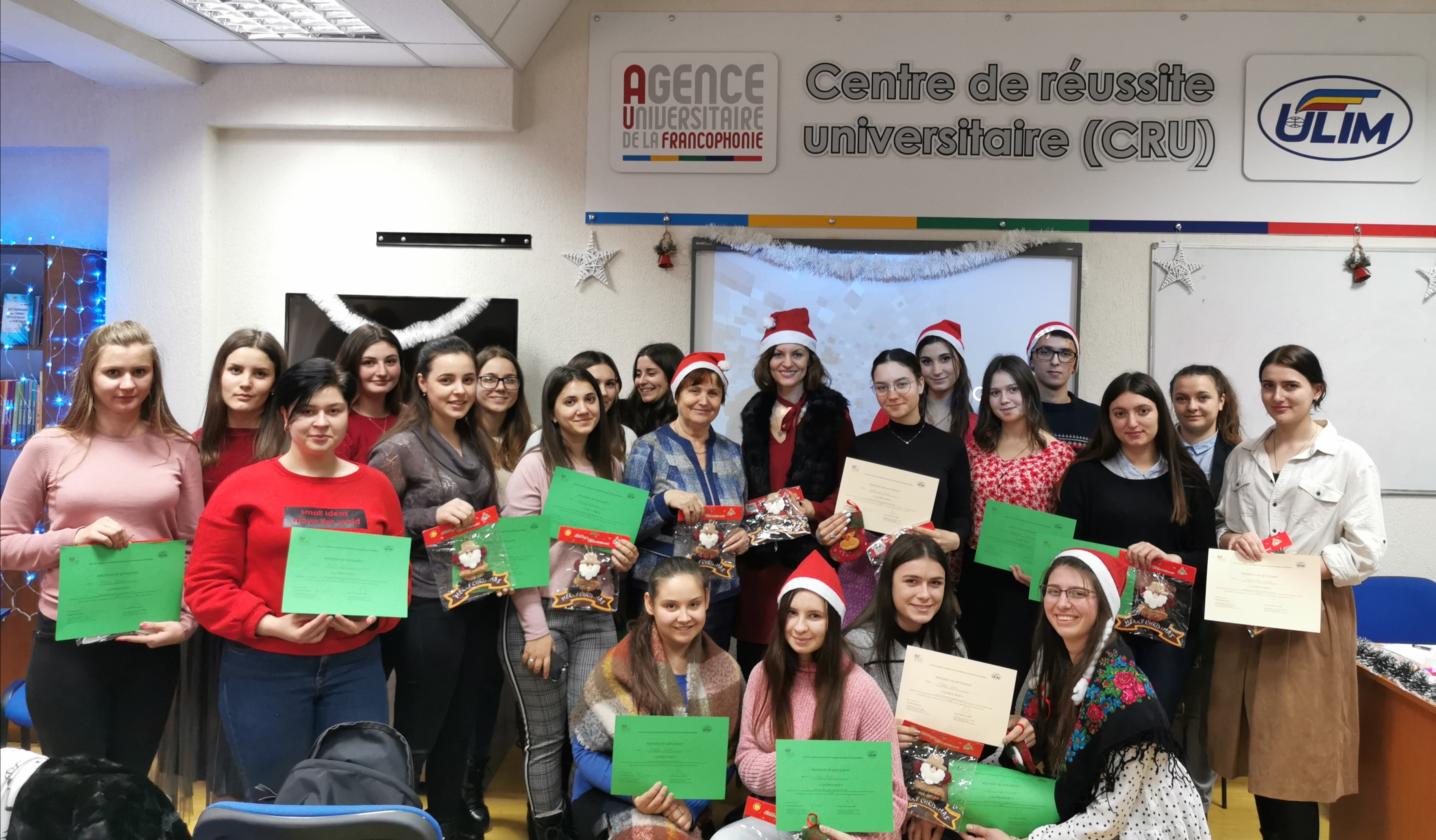 (Mă)Tușa Crăciun 2019 la Centrul de Reușită Universitară ULIM