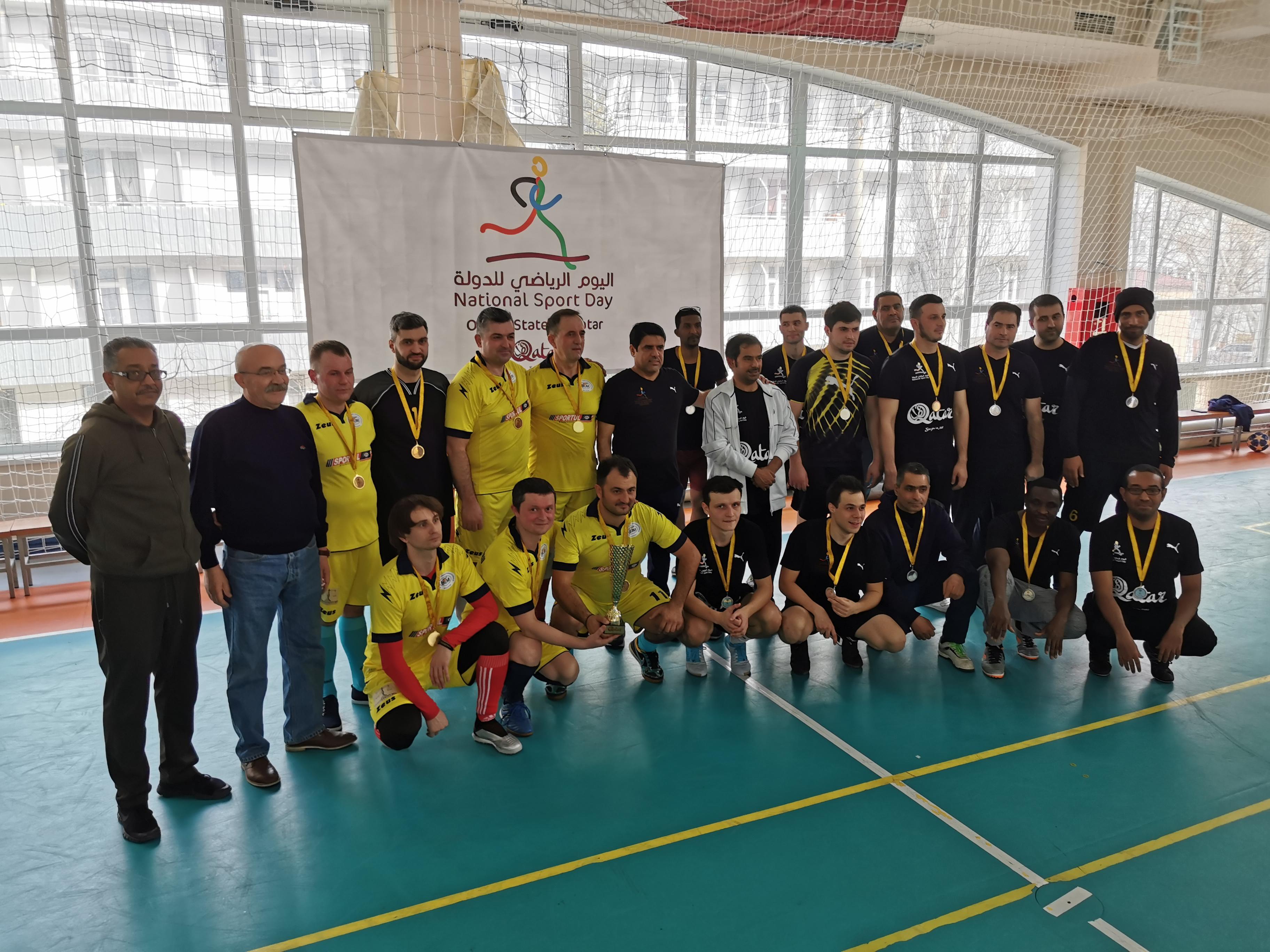 Prietenia a învins la meciul amical disputat între echipa ULIM și echipa Ambasadei Statului Qatar