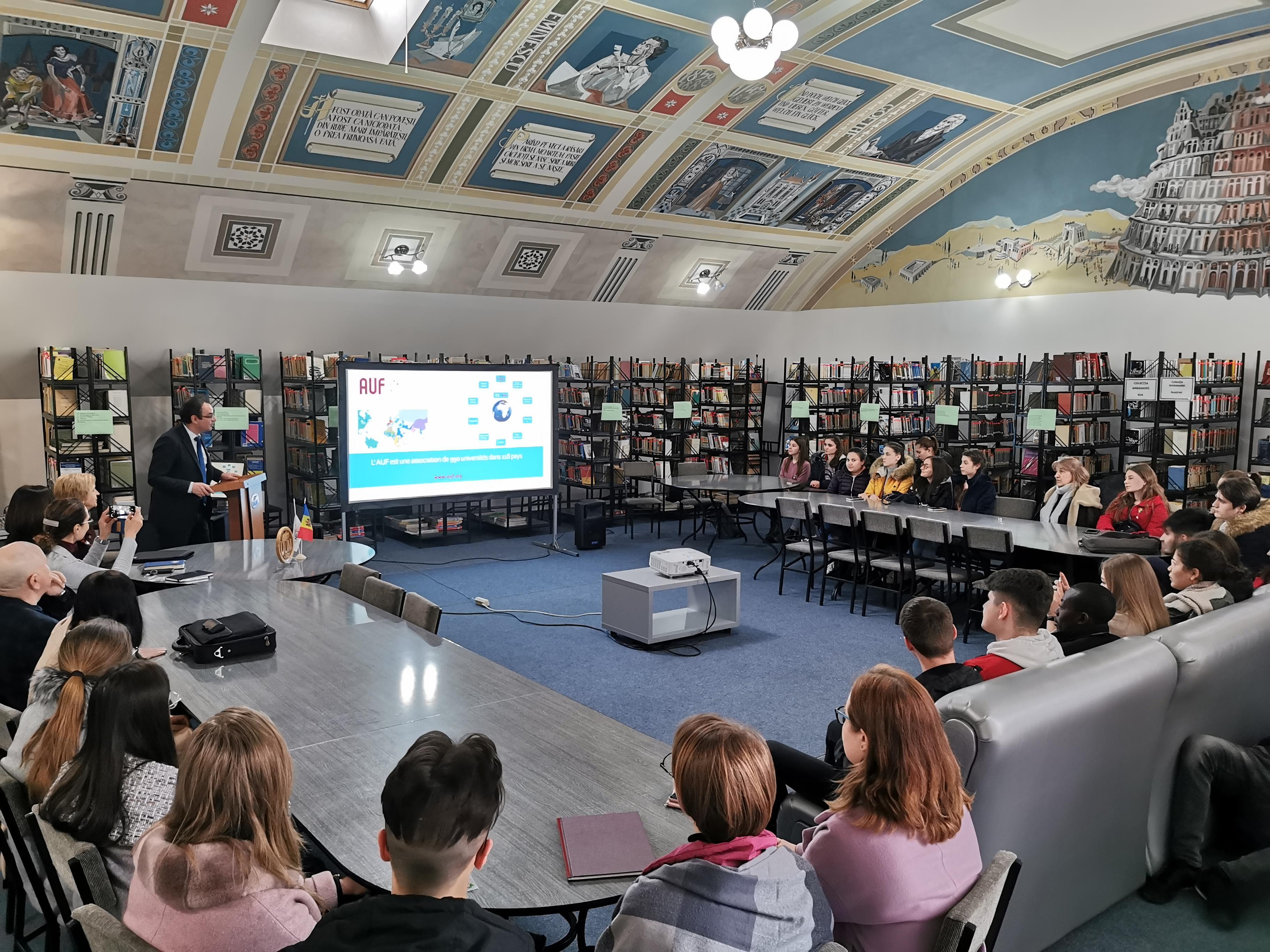 Școala Superioară Francofonă de Administrație și Management din Sofia propune burse la Ciclul Masterat