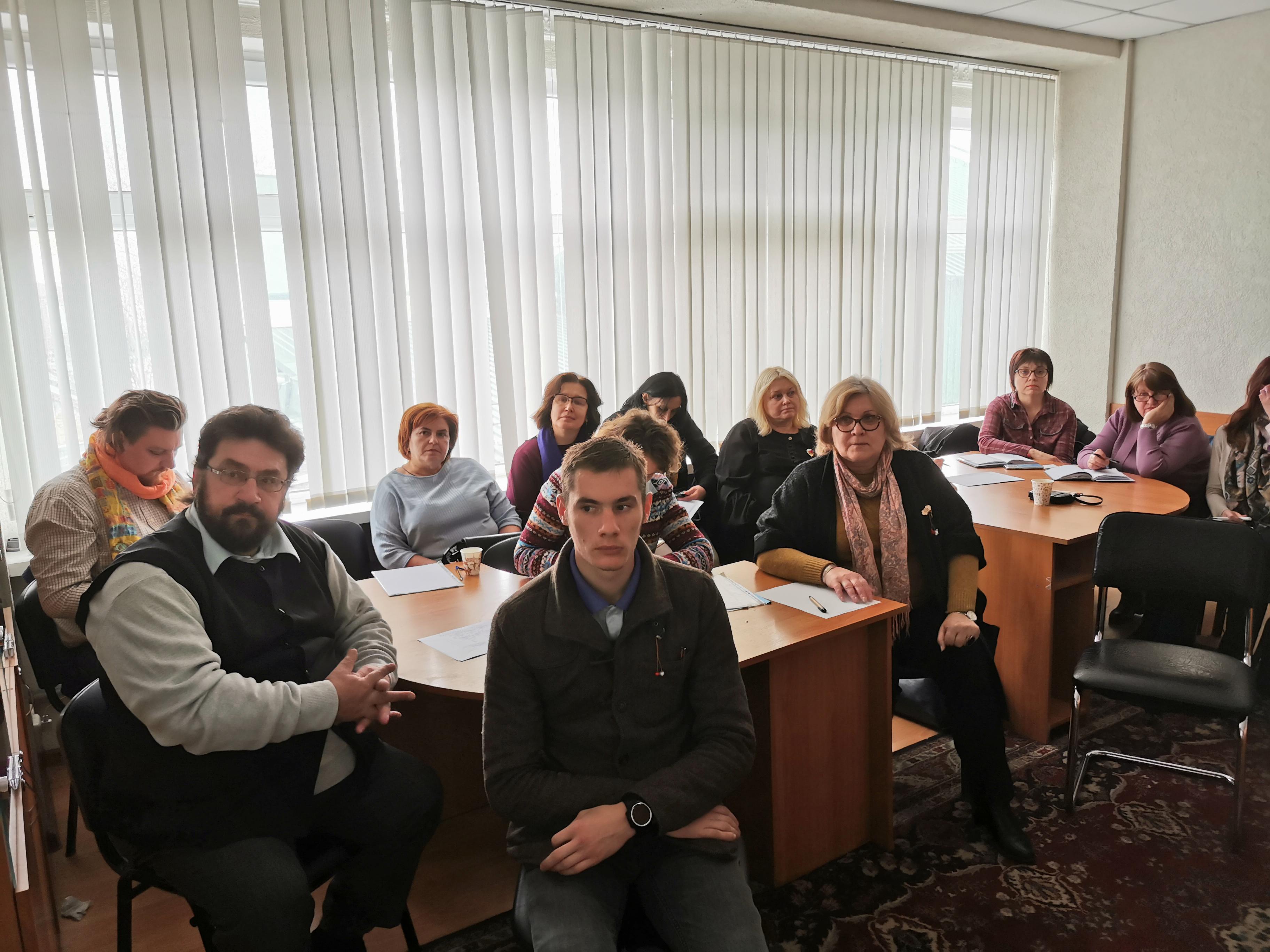 """Prima ședință a Seminarului metodologic în Științe Sociale, cu tema """"Psihologia socială și societatea: provocări ale etapei de tranziții"""""""