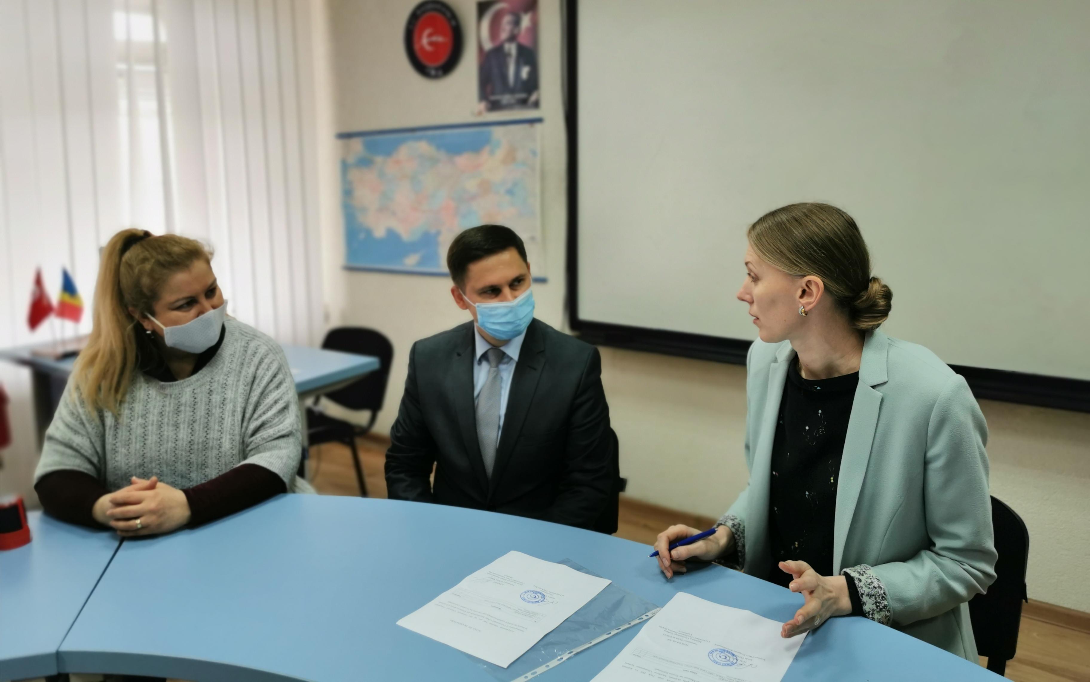 Donație pentru Centrul de Limbă și Cultură Turcă din cadrul ULIM din partea Agenției Turcești pentru Cooperare și Coordonare